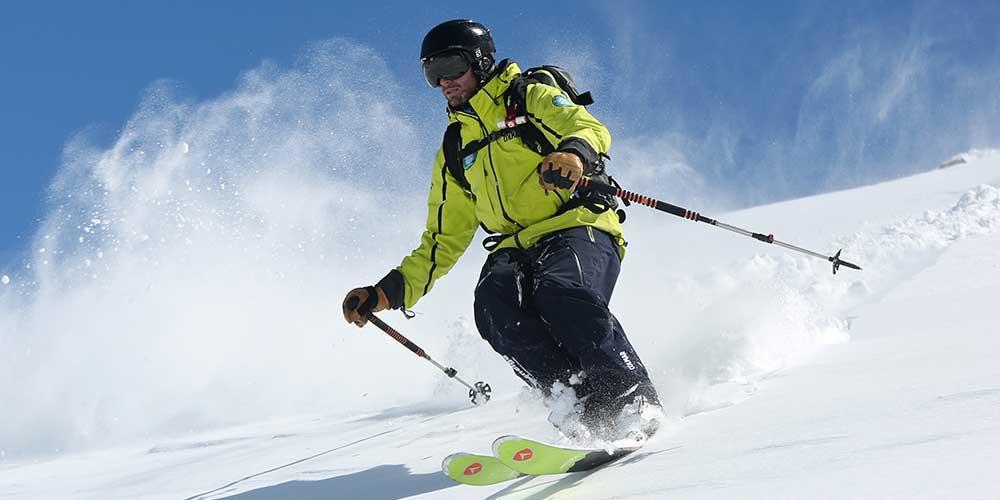 Moniteur de Ski hors piste