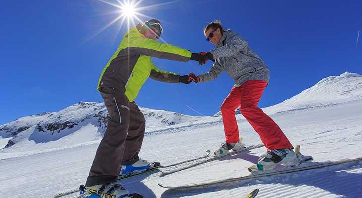 Cours de ski privé adulte