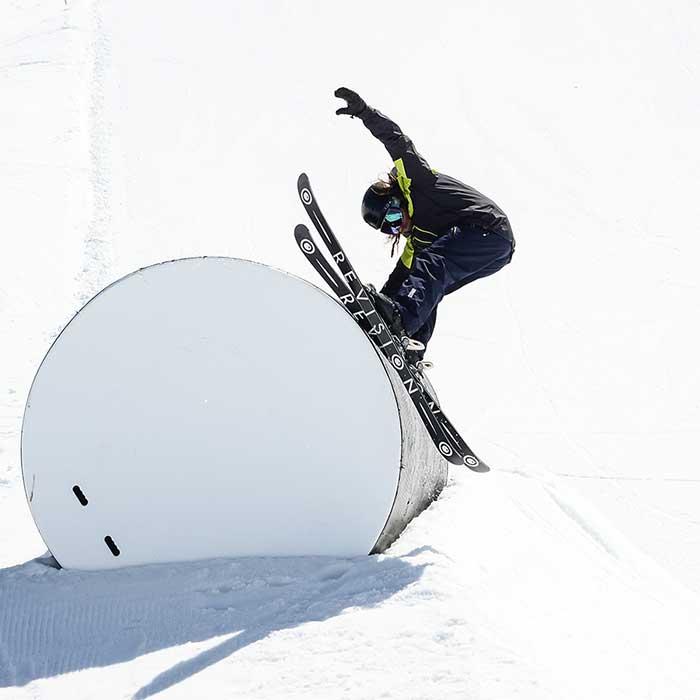 cours privés de freestyle en ski ou snowboard Prosneige