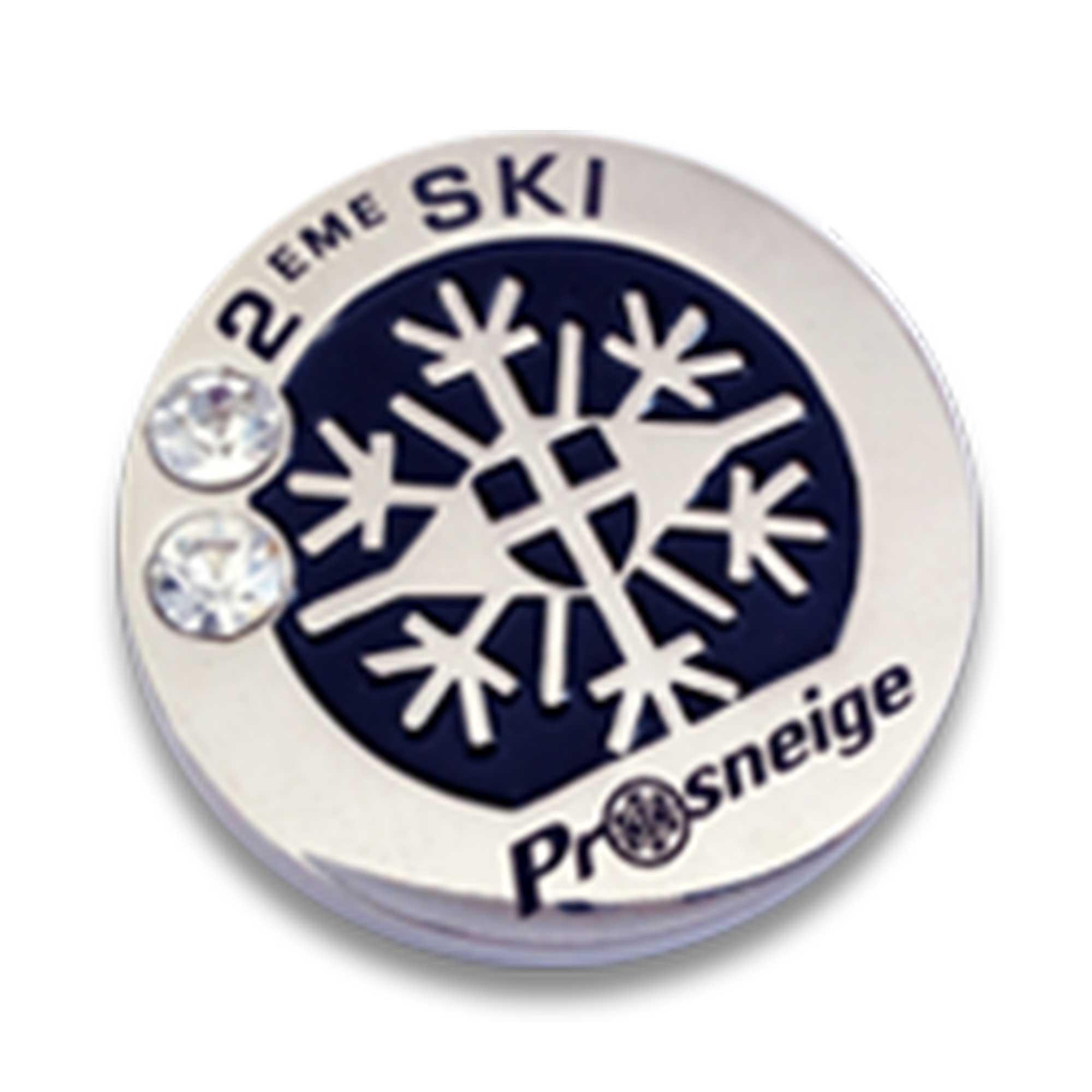 Médaille cours de ski niveau 2 ski