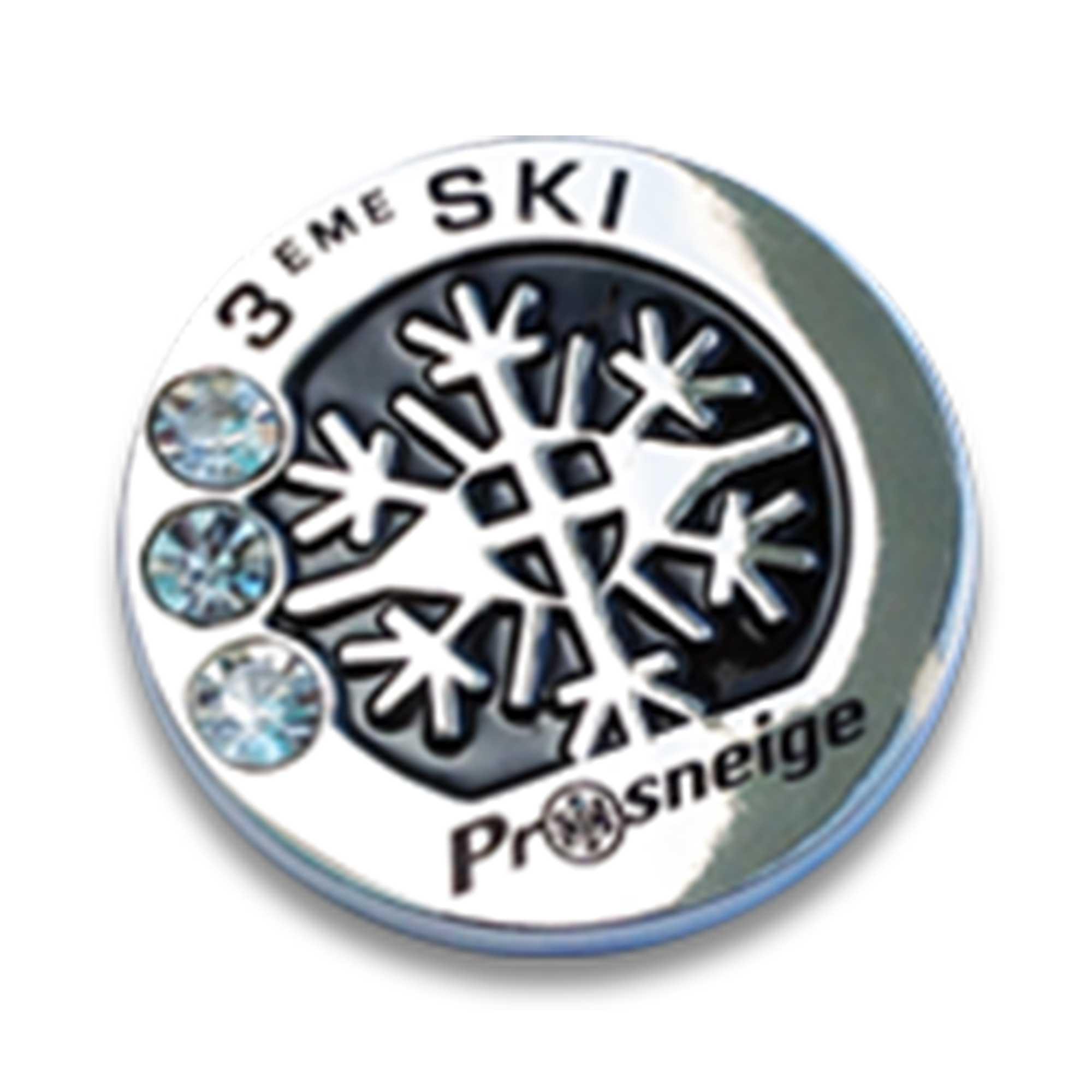 Médaille cours de ski niveau 3 ski
