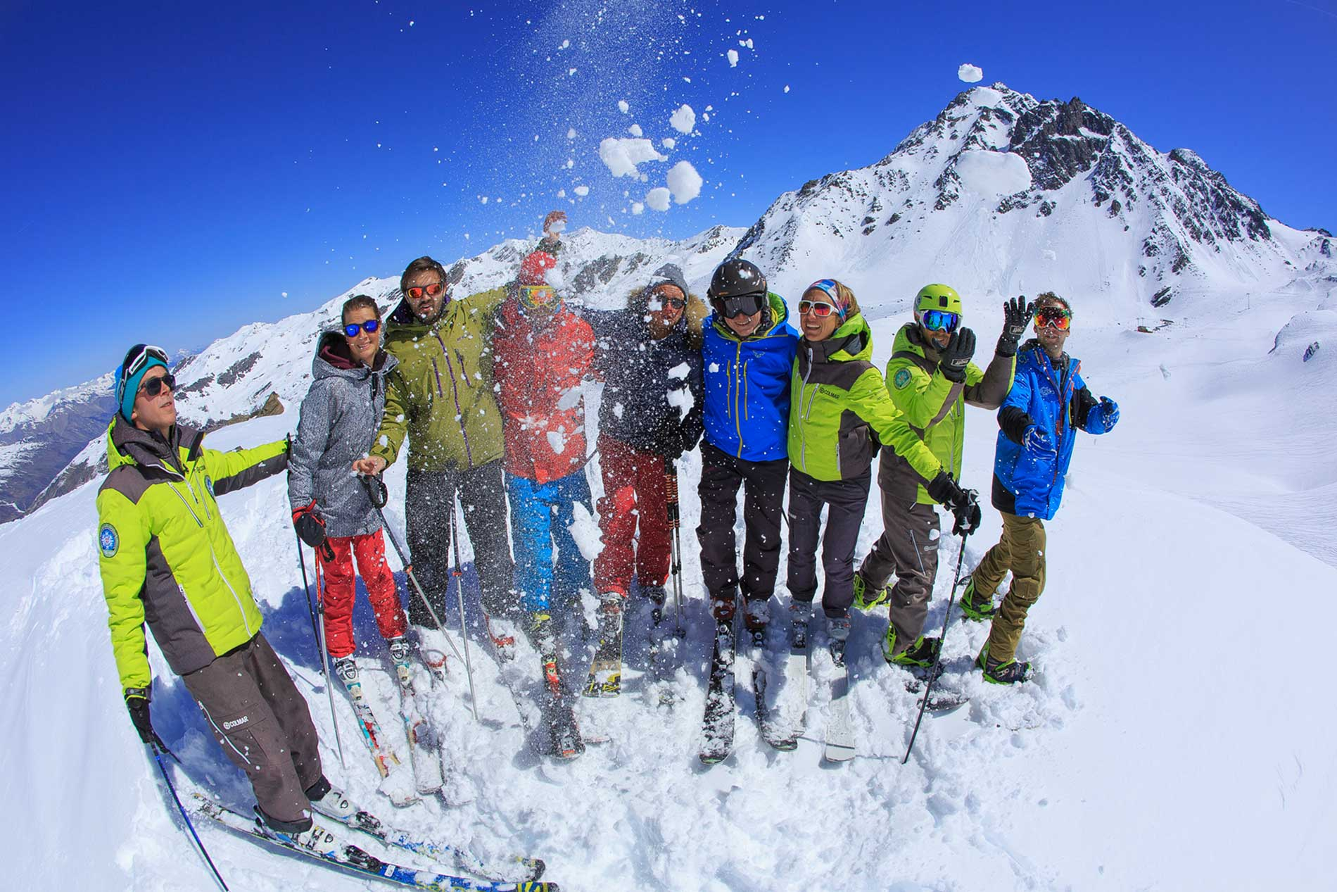 Cours collectif ski adulte