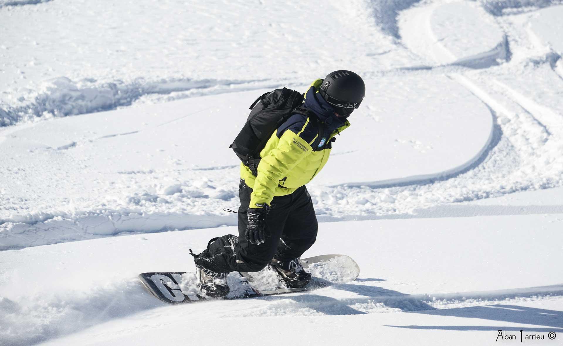 cours de snowboard Prosneige