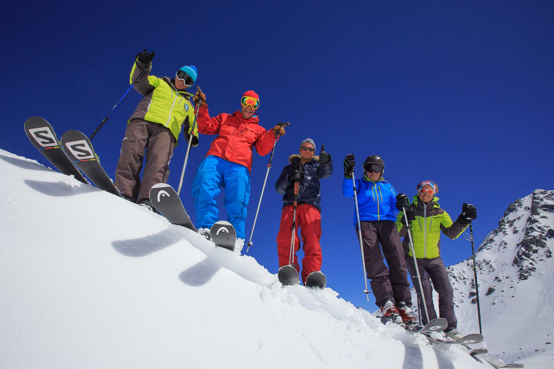 Cours de ski collectifs adultes