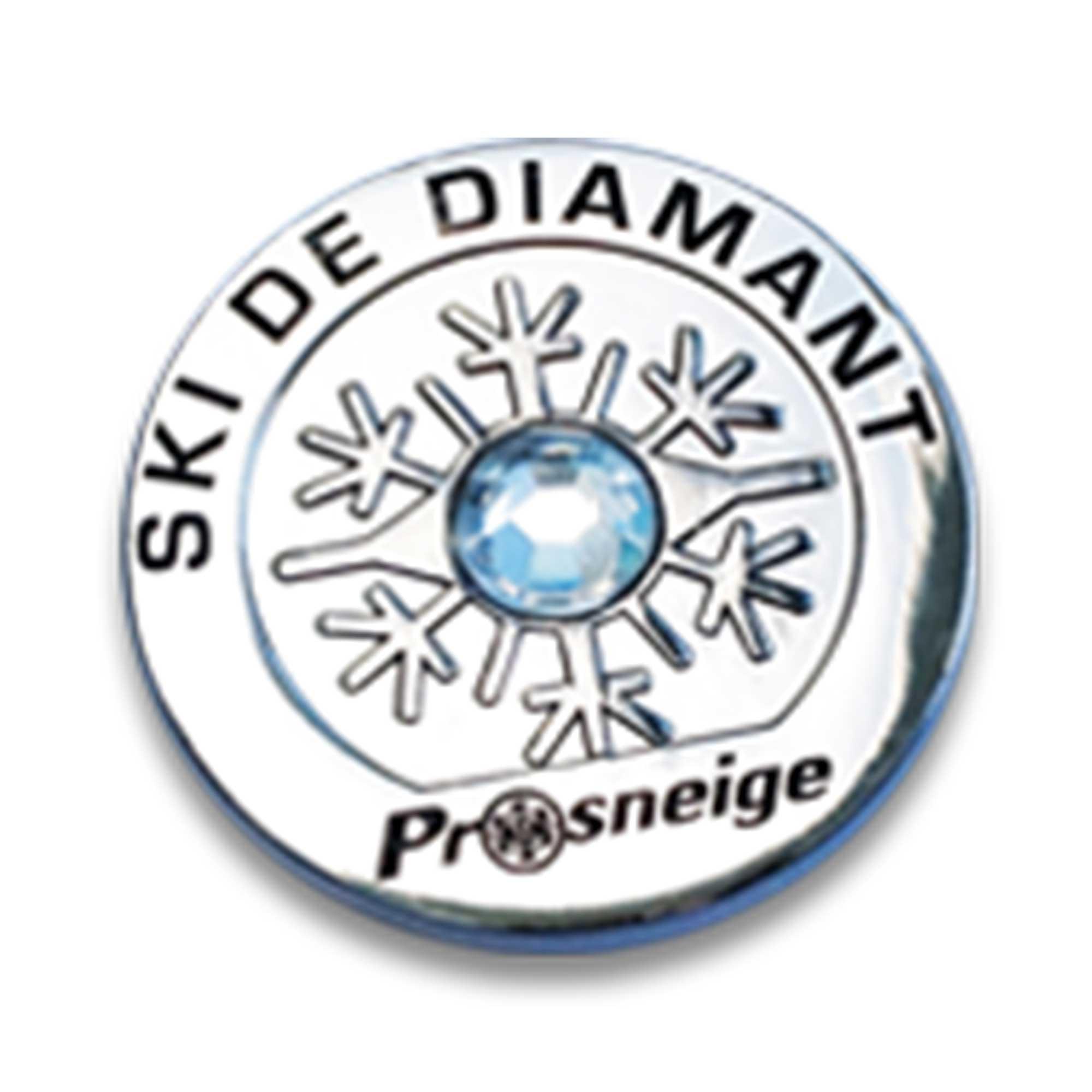 Médailles cours de ski diamant