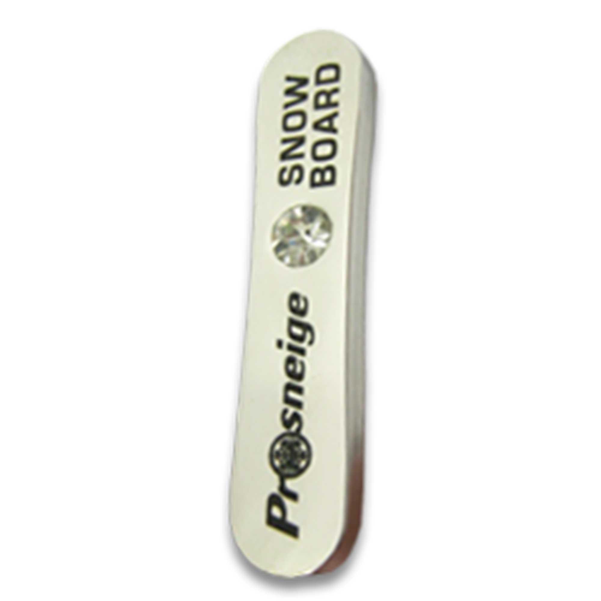 Médaille cours de snowboard niveau argent