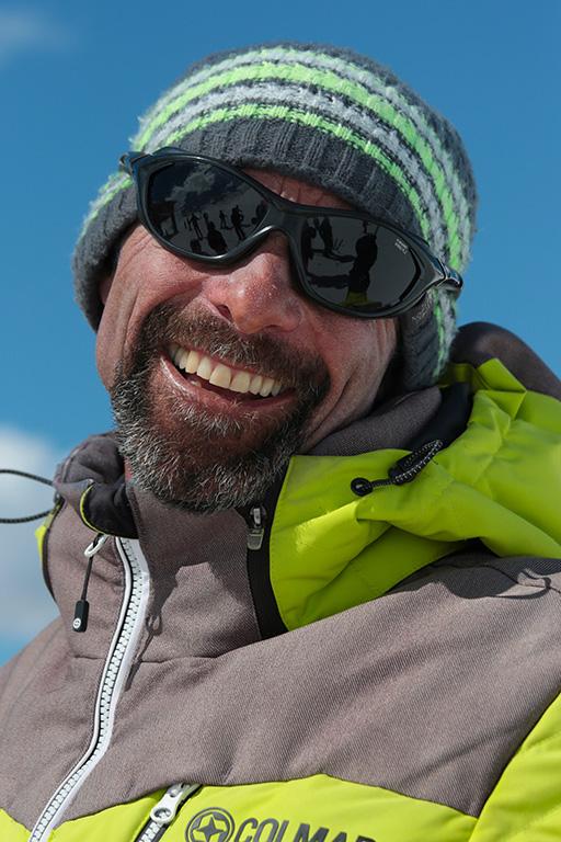 Moniteur de ski Val Thorens Alain Poux