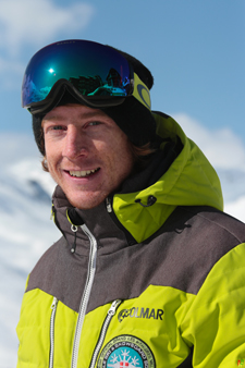 Moniteur de ski Val Thorens Alan Philippe