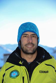 Moniteur de ski Les Menuires Alessandro Miglia