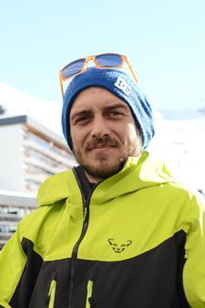 Moniteur de ski Les Menuires Andrea Chiariello