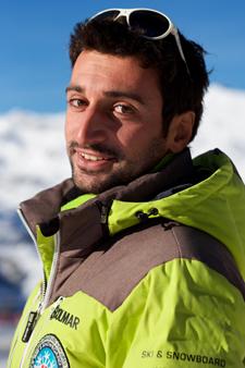 Moniteur de ski Val Thorens Benoit Martin