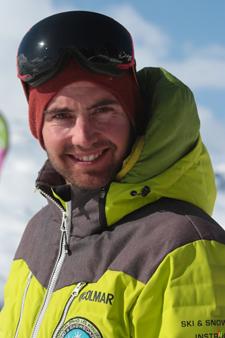 Moniteur de ski Val Thorens Brice Perret Gentil