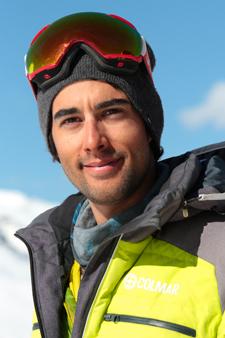 Moniteur de ski Val Thorens Charles Pinguenet
