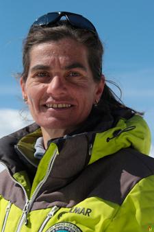 Moniteur de ski Val Thorens Frederique Vallee
