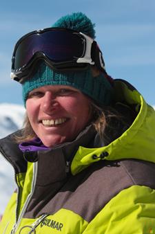 Moniteur de ski Val Thorens Tatiana Robert