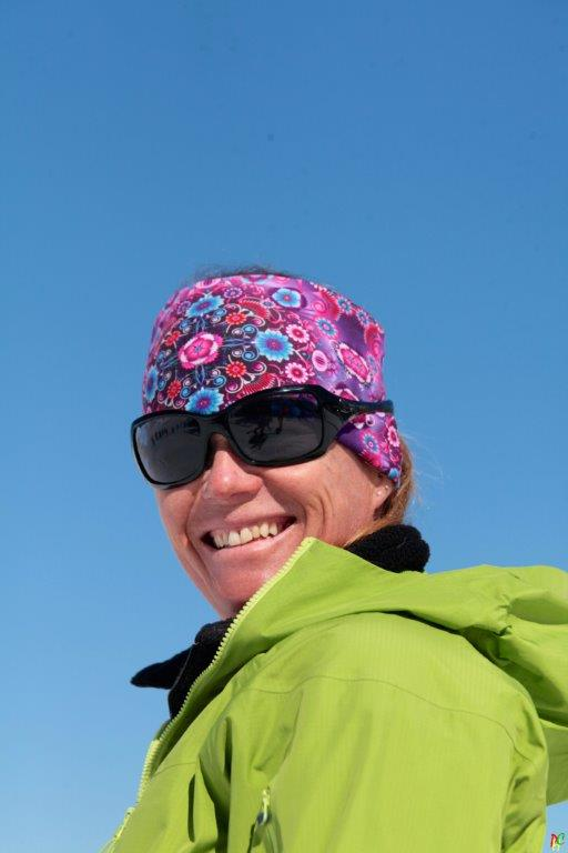 Monitrice de ski Val Thorens Valérie Glath