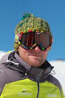 Moniteur de ski Vincent Vlug