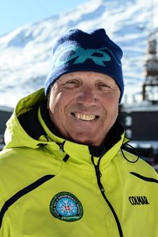 Moniteur de ski les Menuires Andrea Conti