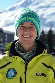 Moniteur de ski Les Menuires Barbara Strano