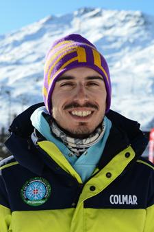 Moniteur de ski Les Menuires Federico Calligaris