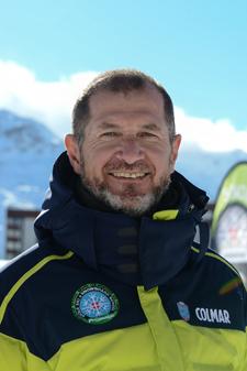 Moniteur de ski Les Menuires Gualtiero de Marchi