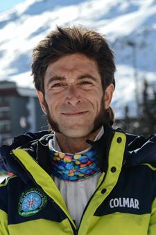 moniteur de ski les Menuires Vincent Suchel