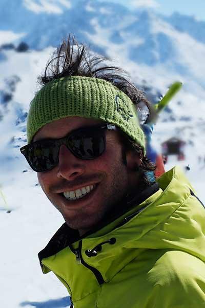 Moniteur de ski Méribel Alessandro Medici
