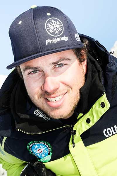 Moniteur de ski Meribel Federico Agnellini