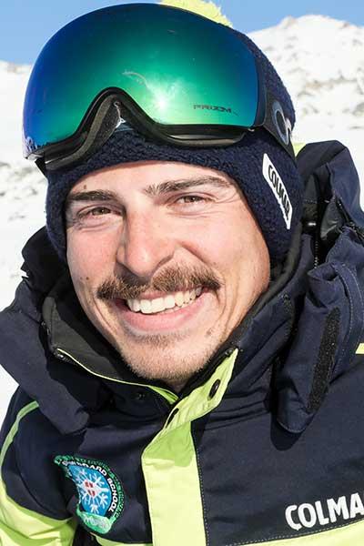 Moniteur de ski Meribel Francesco Dall'Olio