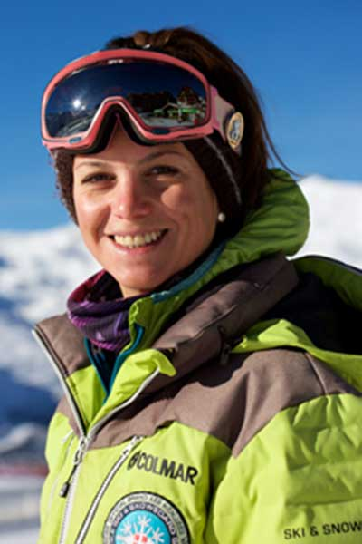 Monitrice de ski Val Thorens Justine Guyon