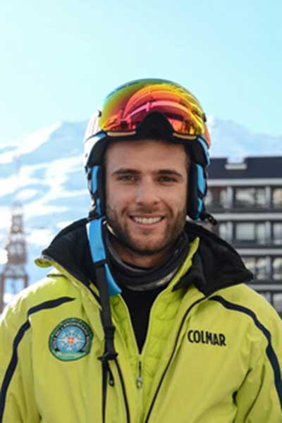 Moniteur de ski Val Thorens Tiziano Manni
