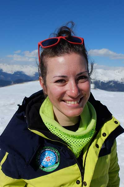 Monitrice de ski Méribel Ludovica Viarengo