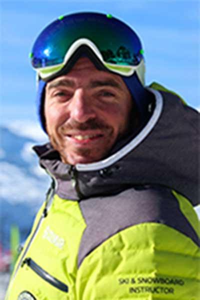 Moniteur de ski Val Thorens Mattieu Azias