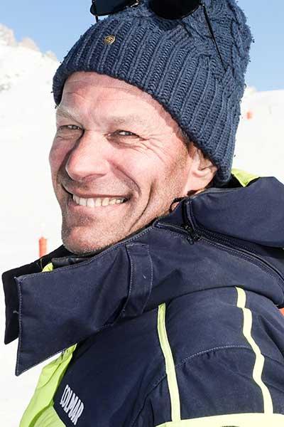 Moniteur de ski Méribel Francois Berta