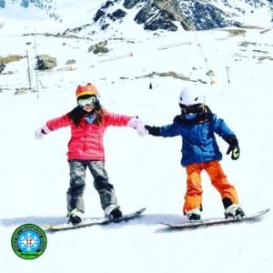 cours de snowboard enfant