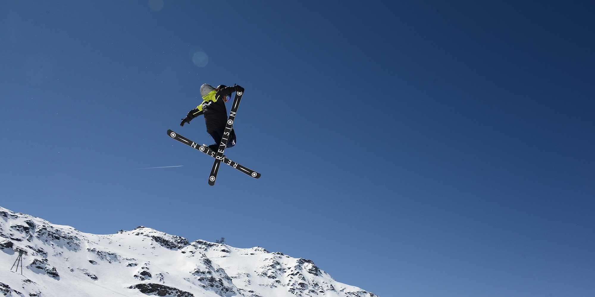 Ski freestyle et saut en ski avec Prosneige