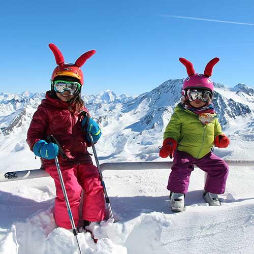 galerie photos prosneige enfants au ski