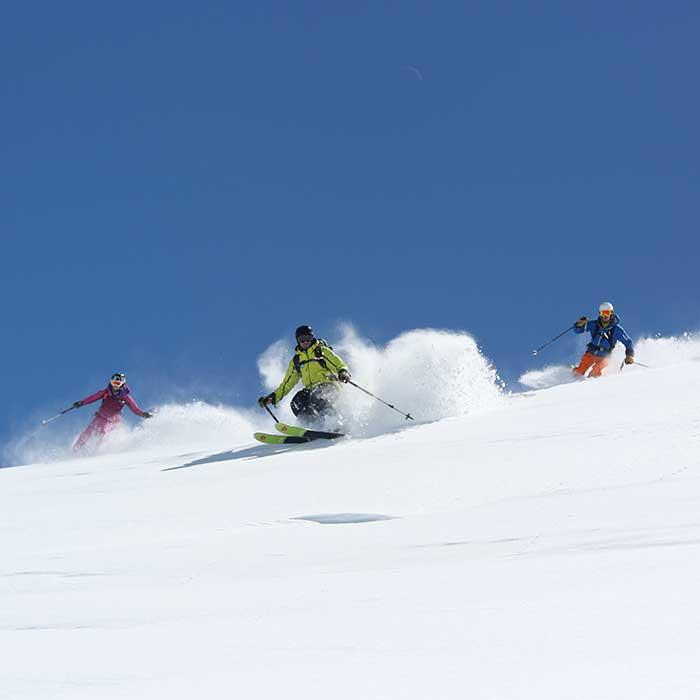 cours hors-piste moniteurs de ski prosneige