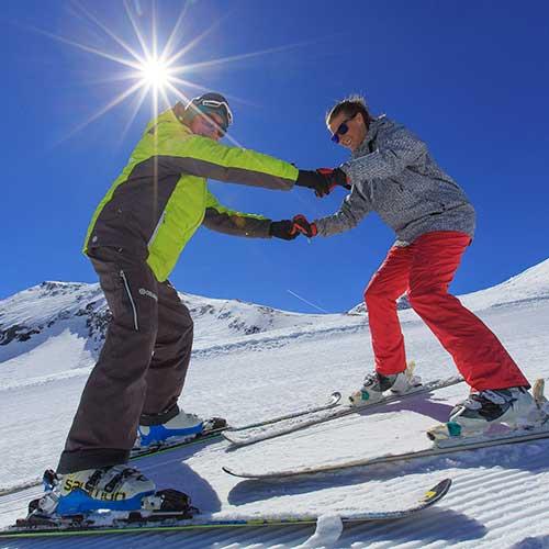 Débuter le ski pour adultes