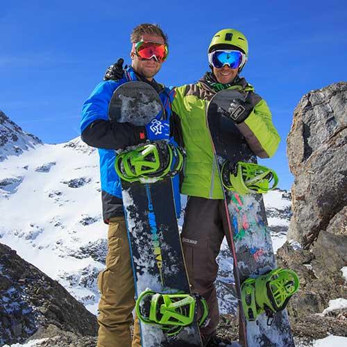 Leçon de snowboard avec un moniteur Prosneige passionné