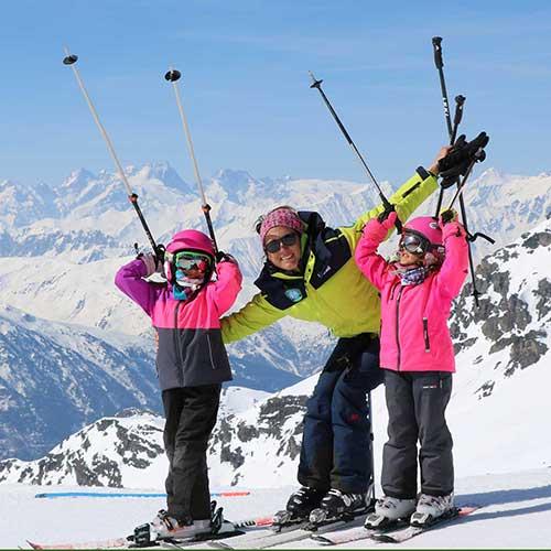 galerie photos prosneige enfants cours de ski