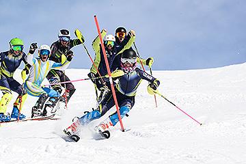 Formation test technique slalom