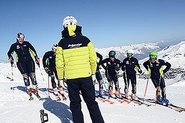 Photos formation moniteurs slalom ski alpin