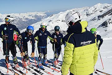 Devenir moniteur de ski Les Menuires