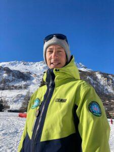 Raphael Evin Directeur ecole de ski Prosneige Val d'isere