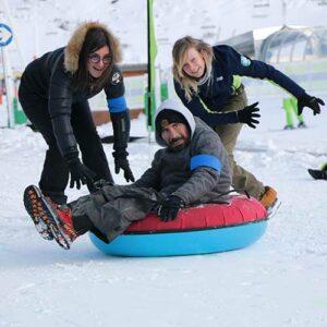 activités meribel jeux olympiques en famille