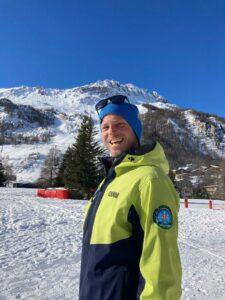 florian villain moniteur de ski prosneige val d'isere