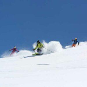 lecon privee ski de randonnee et raquettes val thorens