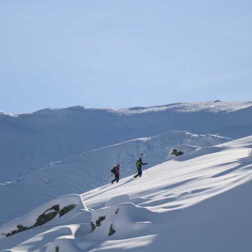 location ski de randonnee val thorens