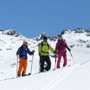 louer des skis de randonnee val thorens